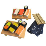 thumbnail of Wood Sushi Set