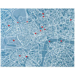 thumbnail of PinCity Map + Wall Travel Diary: London or Paris