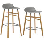 thumbnail of Form Bar + Counter Stool: Oak Legs