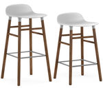 thumbnail of Form Bar + Counter Stool: Walnut Legs