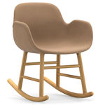 thumbnail of Form Rocking Armchair: Upholstered