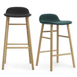 thumbnail of Form Counter + Bar Stool: Oak Upholstered