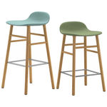 thumbnail of Form Bar + Counter Stool: Oak Upholstered