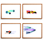 thumbnail of Ronan Bouroullec Limited Edition Prints: Set of 4