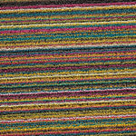 thumbnail of Skinny Stripe Shag Indoor/Outdoor Floor Mat