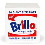 thumbnail of Andy Warhol Brillo Pouf