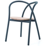 thumbnail of Ming Aluminum Chair With Wood Seat
