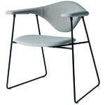 thumbnail of Masculo Dining Chair: Sledge Base