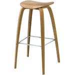 thumbnail of 2D Bar + Counter Stool: Wood Base