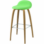 thumbnail of 3D Bar + Counter Stool: Wood Base + Full Upholstery