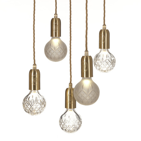 a r store crystal bulb pendant product detail
