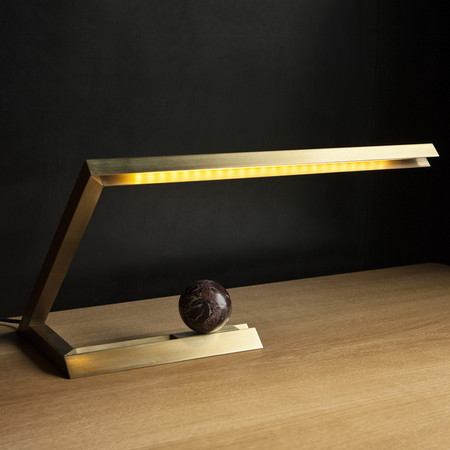 A R Store Oud Led Table Lamp Product Detail