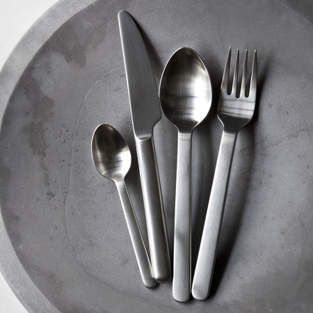 A R Store New Norm Flatware Brushed Steel Product Detail