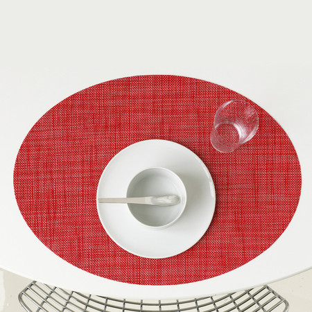 Mini Basketweave Oval Placemats