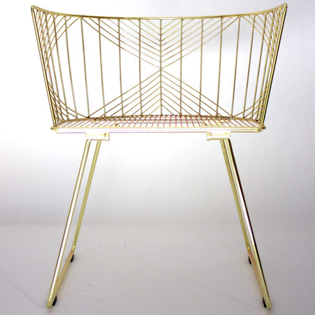 A R Store Captain Chair Metallic Product Detail