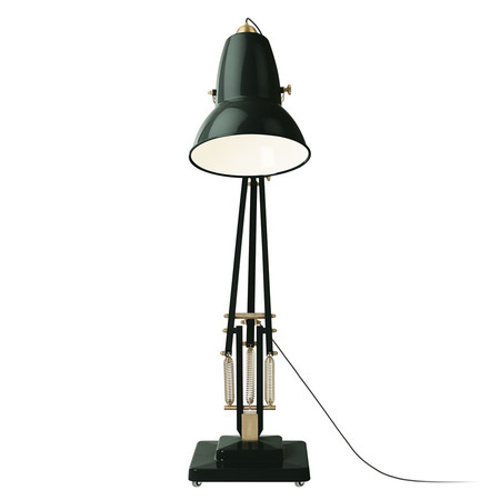 Description a beloved british icon of design translates as a real showstopper in the original 1227 giant brass floor lamp anglepoises